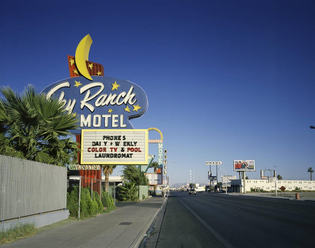 "The Sky Ranch Motel as it appears in ""Motel Vegas."" (Fred Sigman)"