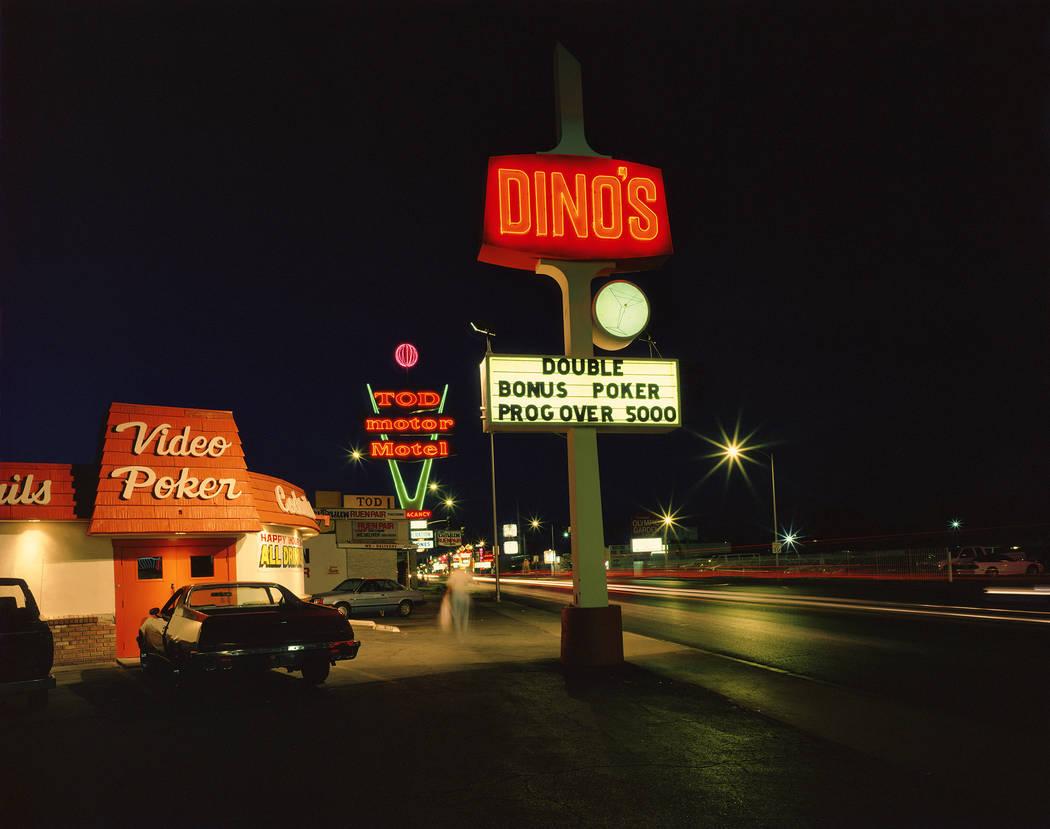 Tod Motor Motel on Las Vegas Boulevard North (Fred Sigman)