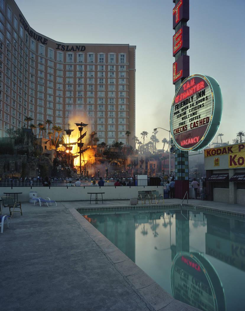 Tam O'Shanter on the Las Vegas Strip, across from Treasure Island (Fred Sigman)