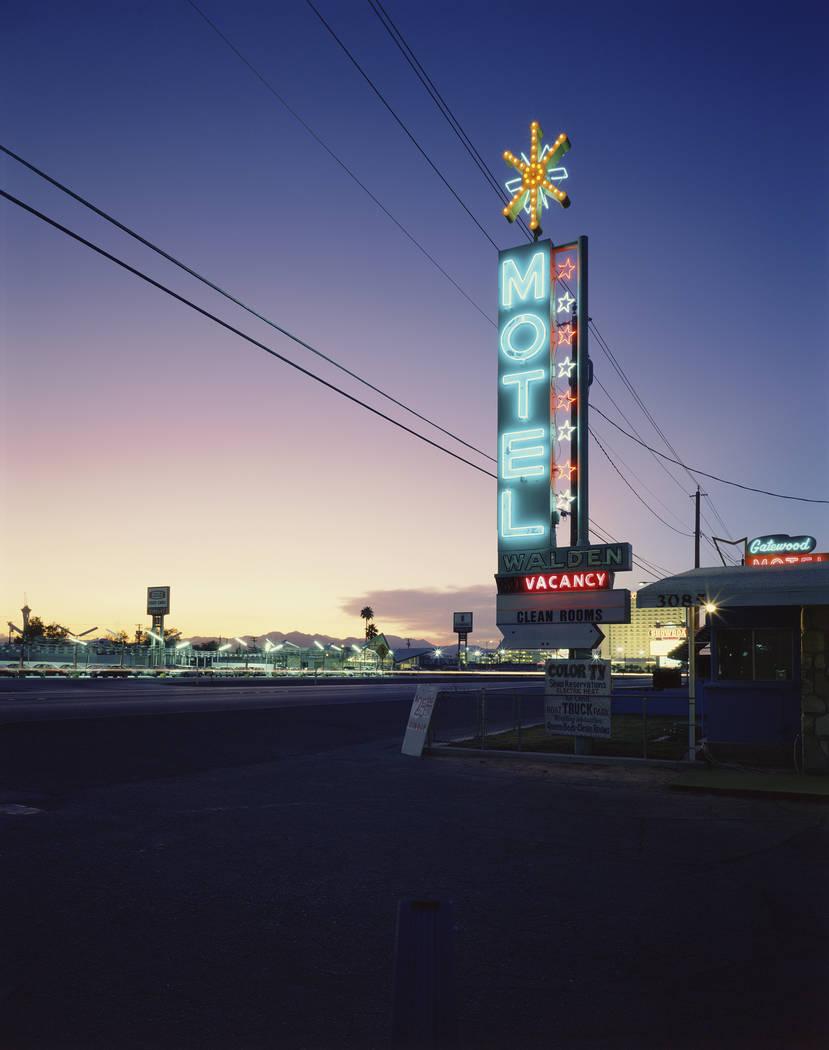 Gatewood Motel sign (Fred Sigman)