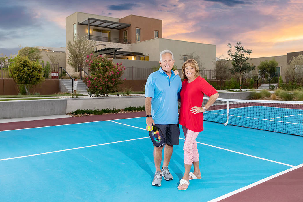 Detroit, Michigan natives Jeff and Ann Feld live at Trilogy by Shea Homes, an active adult comm ...