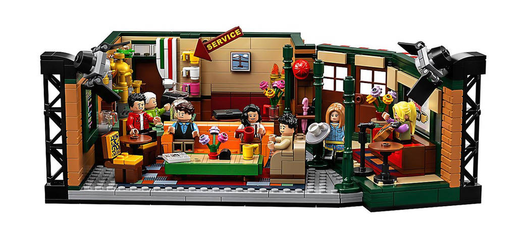 The Central Perk set is available from LEGO. (LEGO)