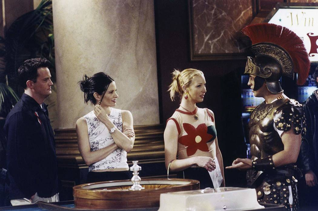 """A scene from the """"Friends"""" episode """"The One in Vegas: Part 1"""" (NBCUniversal, Inc.)"""