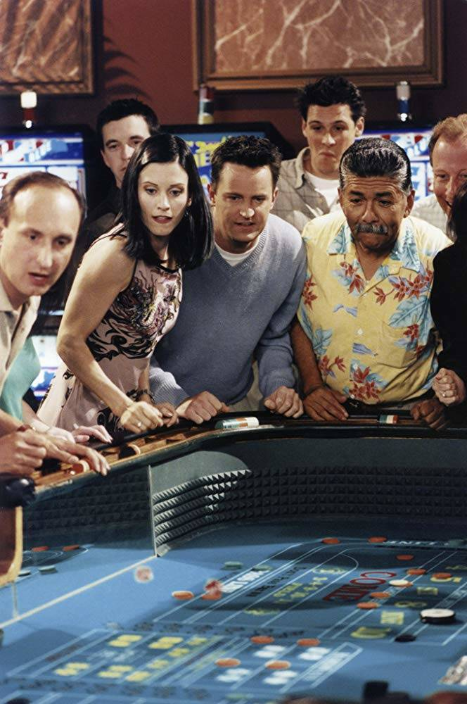 """A scene from the """"Friends"""" episode """"The One in Vegas: Part 2"""" (NBCUniversal, Inc.)"""