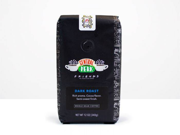 Central Perk-branded coffee from The Coffee Bean & Tea Leaf. (The Coffee Bean & Tea Leaf.)