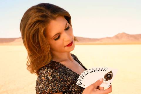 Magician Jen Kramer performs the 5 p.m. shows at Westgate Cabaret. (Richard Faverty)
