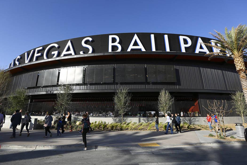 Las Vegas Ballpark (Chase Stevens/Las Vegas Review-Journal) @csstevensphoto