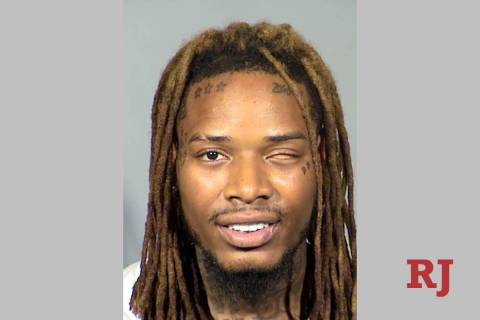 Fetty Wap, a.k.a. Willie Maxwell, was arrested in Las Vegas on Sunday, Sept. 1, 2019. (Las Vega ...