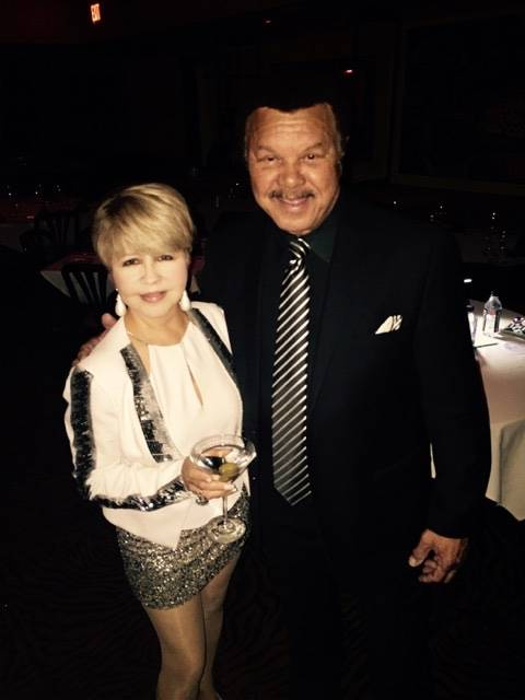 Pia Zadora with recording star Sonny Charles. (Courtesy)