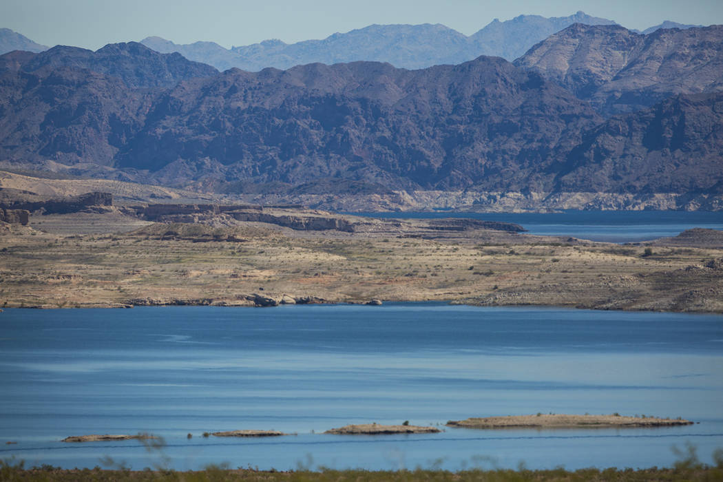 A view of Boulder Basin from 33 Hole at Lake Mead National Recreation Area in March 2018. (Chas ...