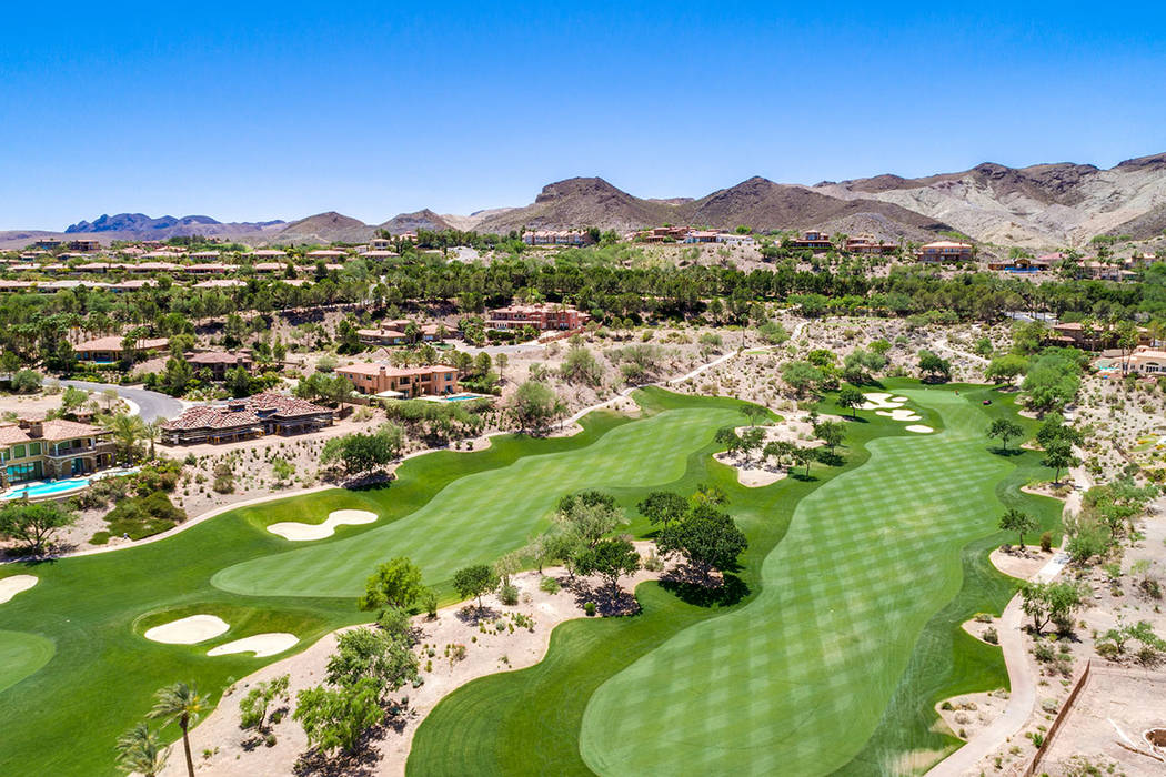The golf course at Lake Las Vegas. (Ivan Sher Group)