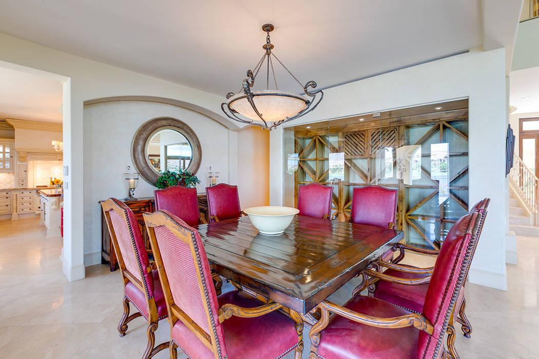 The formal dining room is off the kitchen. (Ivan Sher Group)