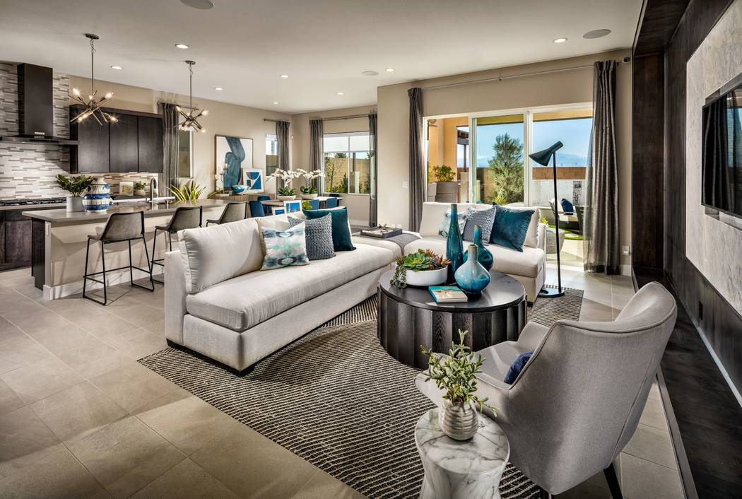 Neighborhoods in Henderson and Las Vegas will kick off the Toll Brothers National Sales Event o ...