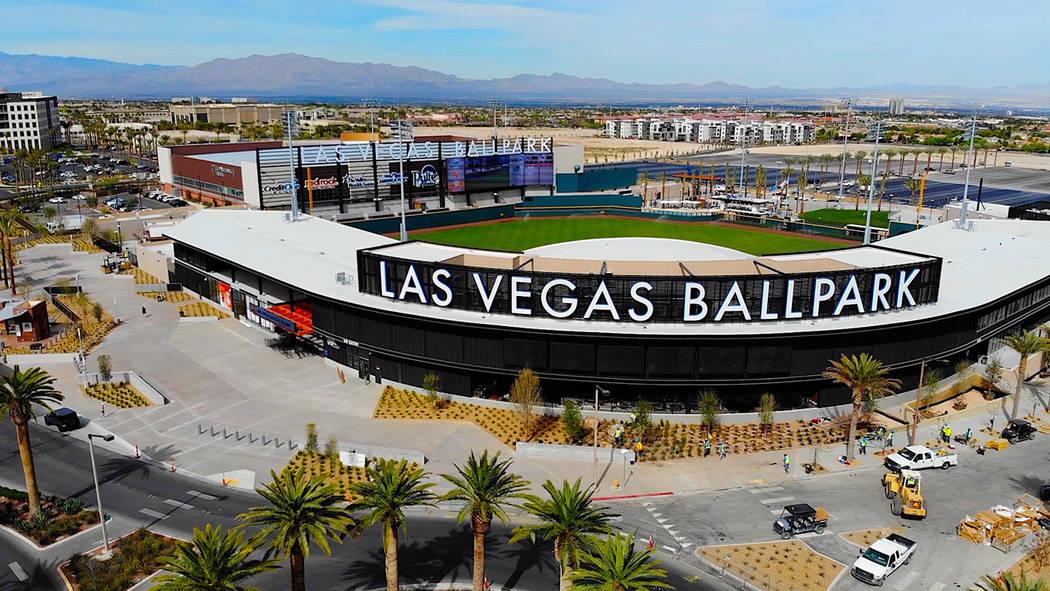 Ballparkdigest.com named Las Vegas Ballpark the Ballpark of the Year and the Las Vegas Aviators ...
