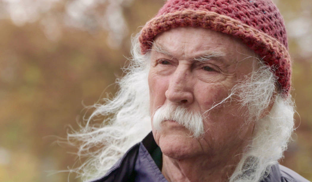 "David Crosby appears in ""David Crosby: Remember My Name"" by AJ Eaton, which was an official sel ..."