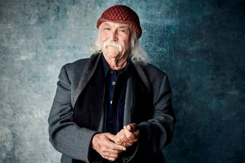 David Crosby will perform Sept. 13 at Red Rock Resort in Las Vegas. (PH by Taylor Jewell/Invisi ...