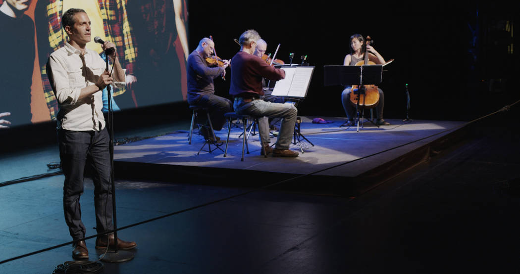 """A Thousand Thoughts: A Live Documentary with the Kronos Quartet"" Kirsten Johnson"