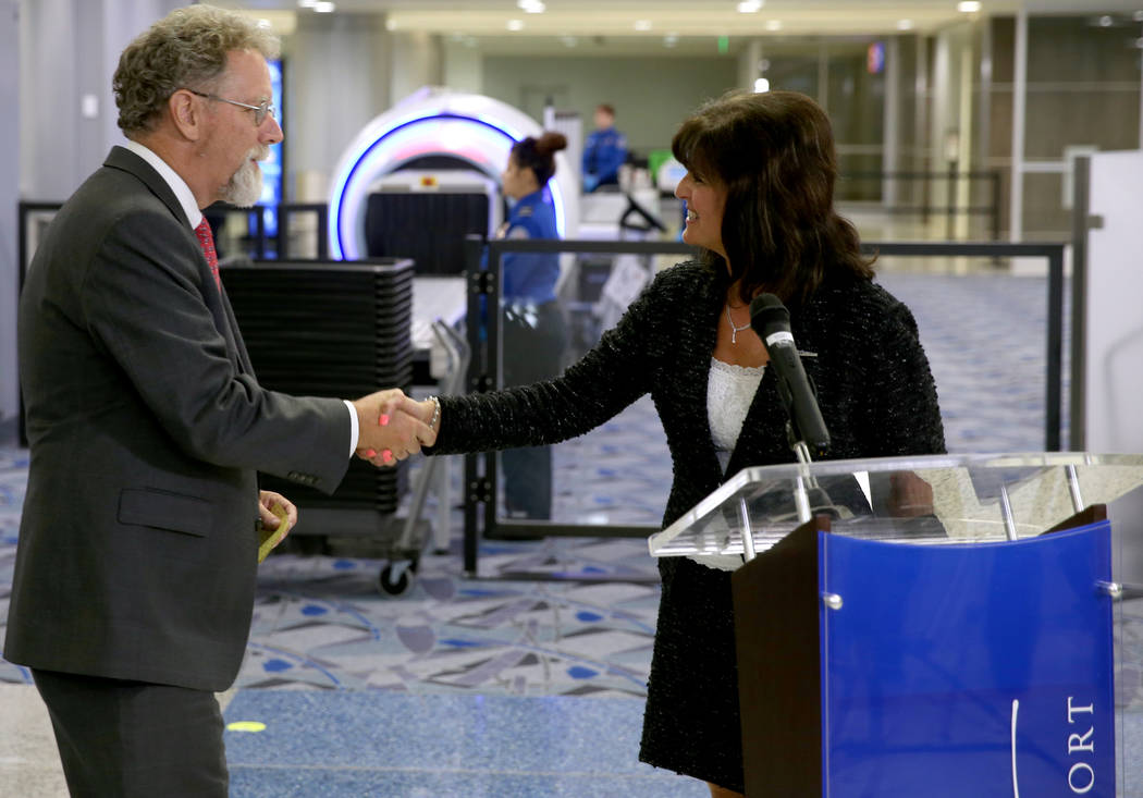 Austin Gould, Transportation Security Administration assistant administrator for requirements a ...