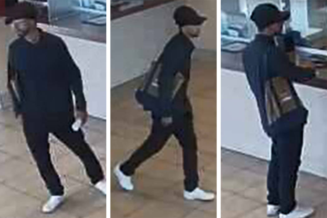 Police are seeking a man who attempted to rob a business Sunday, Aug. 25, 2019, near East Charl ...