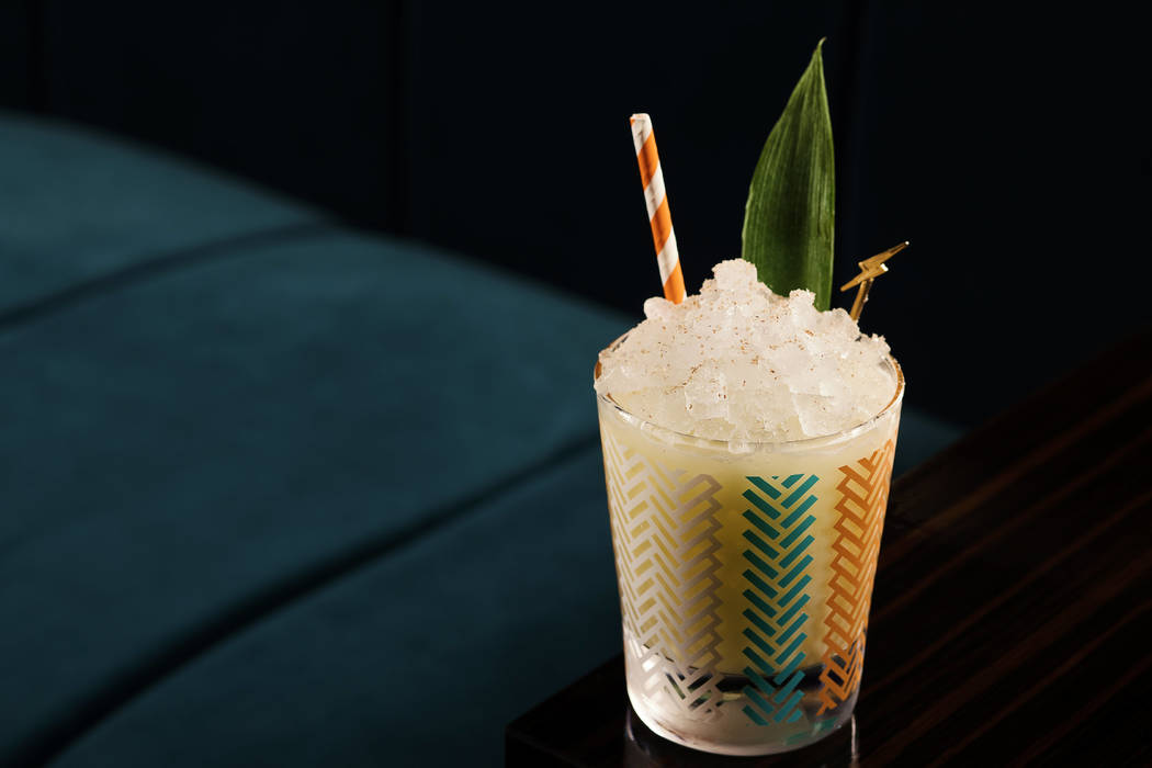 The Venetian Pina Verde at Electra Cocktail Club