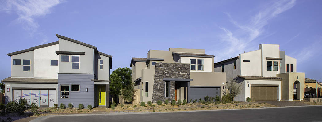 Pardee Homes' Cirrus in southwest Las Vegas has a limited number of move-in-ready homes. (Par ...