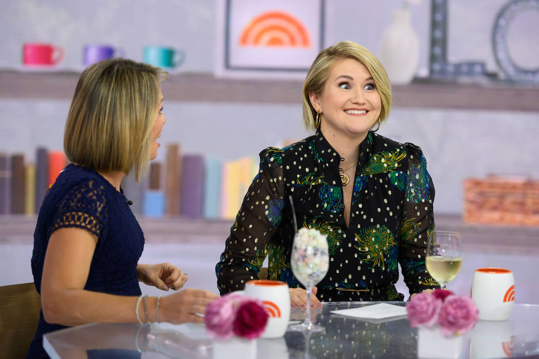 TODAY -- Pictured: Dylan Dreyer and Jillian Bell on Monday, August 12, 2019 -- (Photo by: Natha ...