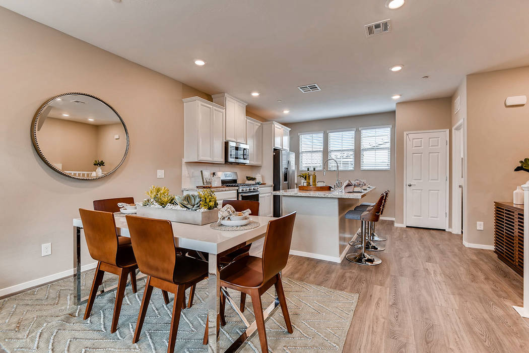 Santa Rosa by Lennar in The Paseos village has four town homes ready for immediate move-in. (Su ...