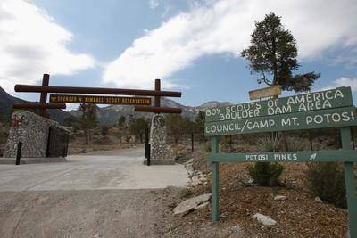 The Spencer W. Kimball Scout Reservation, which sits near Mountain Springs, is owned by the Boy ...