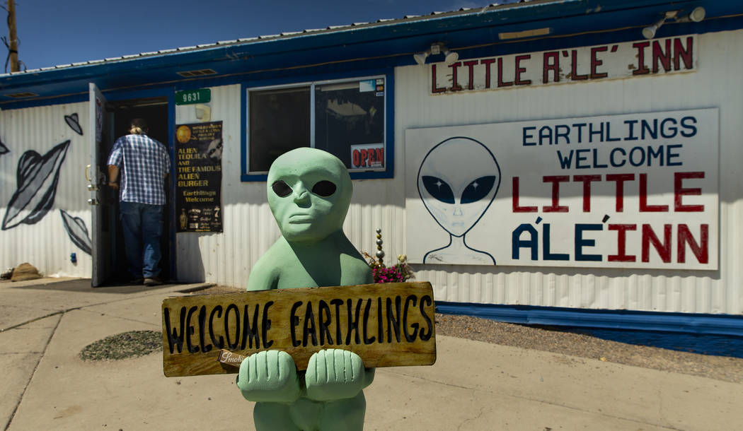 The Little A'Le'Inn in Rachel along the Extraterrestrial Highway/State Route 375 is to be a gat ...