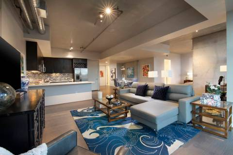 Residence No. 762 at Juhl is a one-bedroom, two-bath, luxury loft condominium that is listed at ...