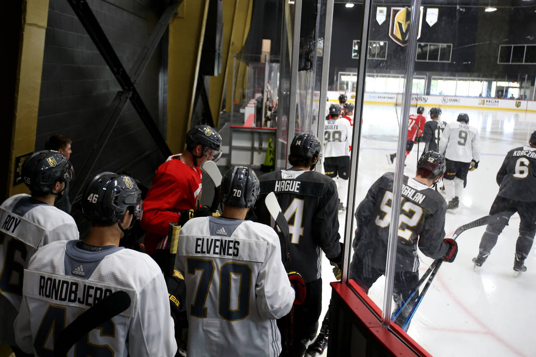 huge selection of 94c3a 7c71c Golden Knights prospects get valuable AHL playoff experience ...
