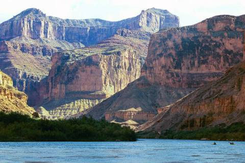 The Colorado River in Grand Canyon National Park in Arizona. (AP Photo/Brian Witte)