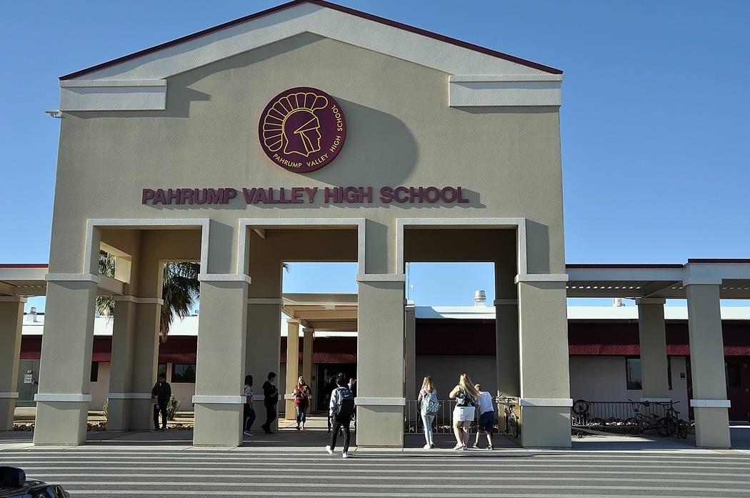 Bus crash injures 4 Pahrump Valley High School football