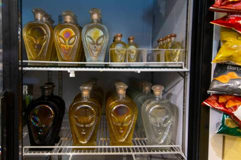 The Alien Research Center offers Alien Tequila while being a gathering site for the upcoming Al ...