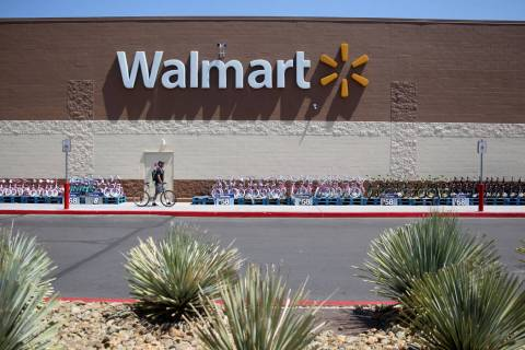 Walmart at 2310 E. Serene Ave. in Las Vegas Tuesday, March 14, 2019. (K.M. Cannon Las Vegas Rev ...