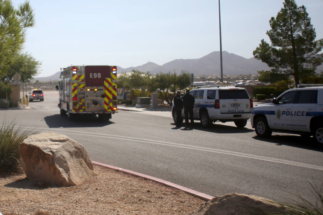 Police and Fire Department arrive after a small plane made a hard landing Sunday morning, Septe ...