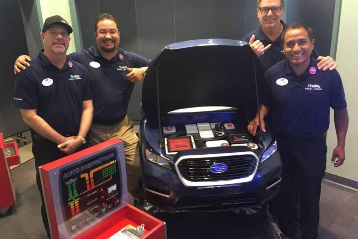 Subaru of Las Vegas unveiled the Discovery Children's Museum Eco-City Exhibit Subaru Car Care ...