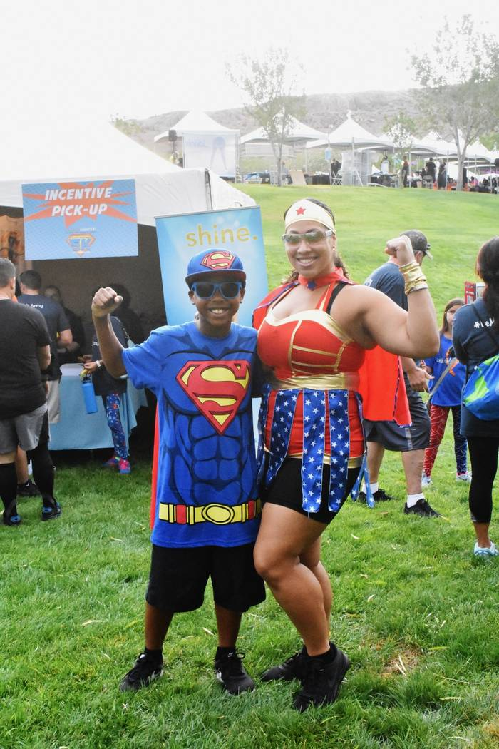 Superheroes participated in a past Superhero 5K event. On Saturday, the annual Candlelighters f ...