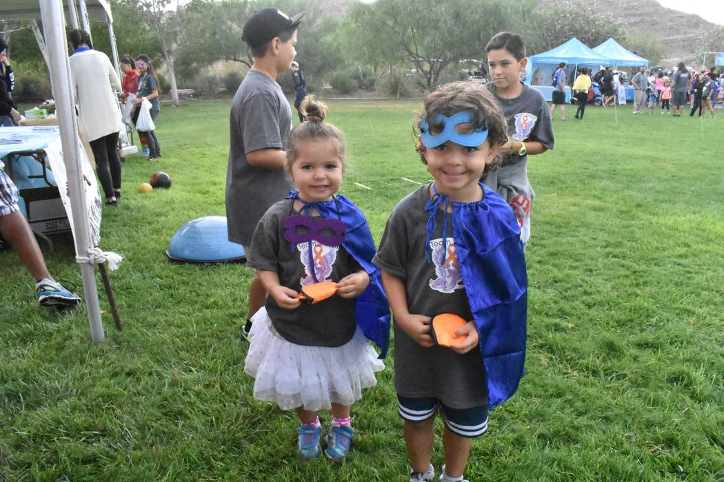 It's all about the kids at Saturday's Candlelighters 5K. The superhero-themed event includes ...