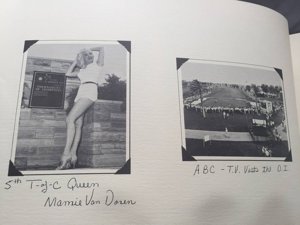 Mamie Van Doren is shown in the DI 25th anniversary book, which also reveals ABC television at ...