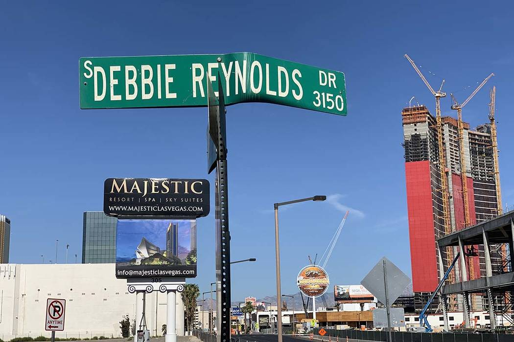 Debbie Reynolds Drive could soon be just a memory as a developer is looking to change the name ...