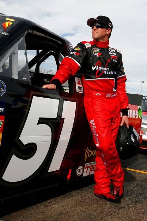 Las Vegas Motor Speedway Bullring champion Justin Johnson will drive in Friday's NASCAR Truck S ...