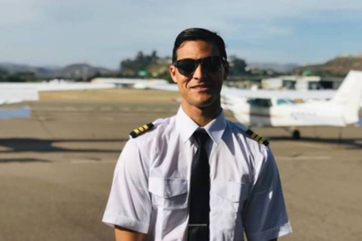 Thomas Craig VIII, who survived the plane crash a half mile away from the Henderson Executive A ...