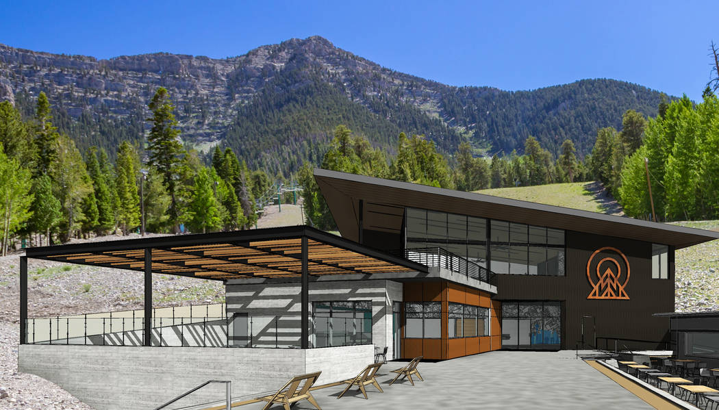 Lee Canyon will open the Hillside Lodge, a 10,000-square-foot facility. (Hillside Lodge)