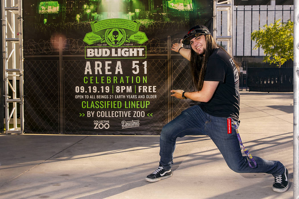 Matty Roberts as the initial creator of 'Storm Area 51' is now apart of the Bud Light Area 51 C ...