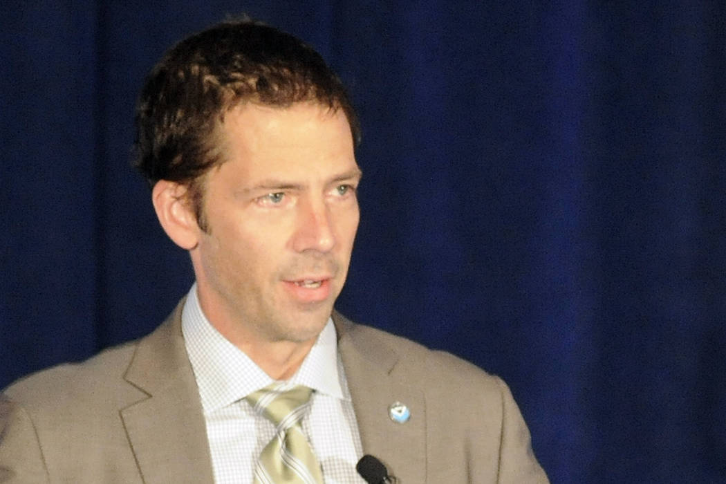 Neil Jacobs, the acting administrator of the National Oceanic and Atmospheric Administration (N ...
