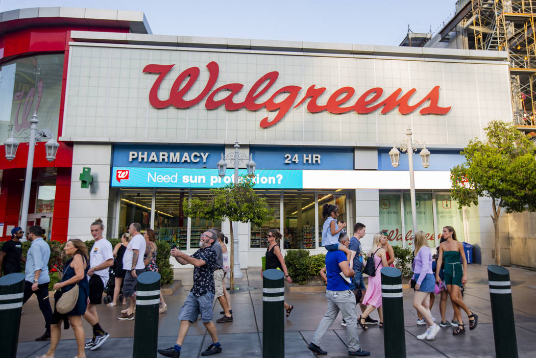 Walgreens puts Las Vegas Strip property on market for $40M