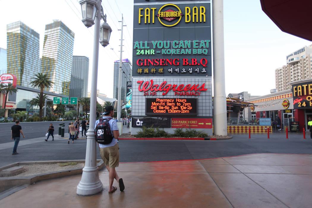 Walgreens Puts Las Vegas Strip Property On Market For 40m
