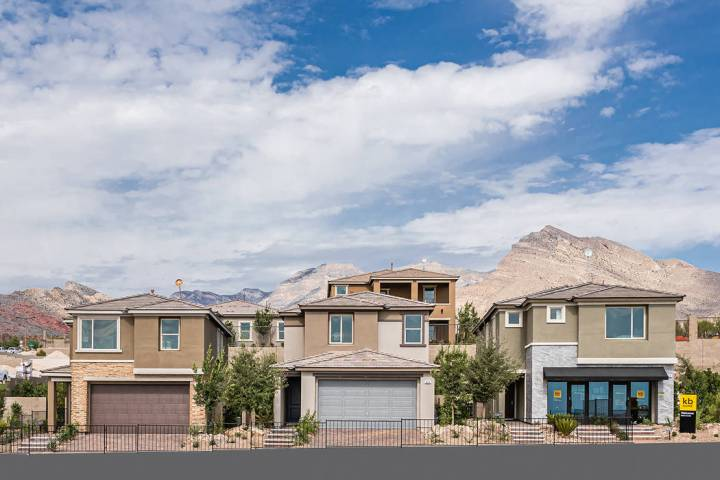 Bristle Vale by KB Home in Summerlin is now open for sales. (Summerlin)