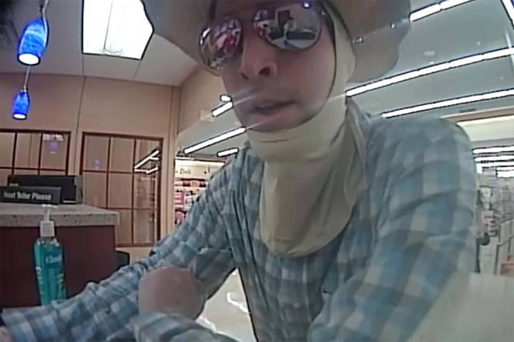 Las Vegas police are looking for this suspect in a business robbery in July (Las Vegas Metropol ...